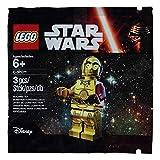 Desconocido Lego 5002948 Disney Star Wars TRU Promo C3PO C-3PO - Poly Bag - Ages 6+ New by Pingan84
