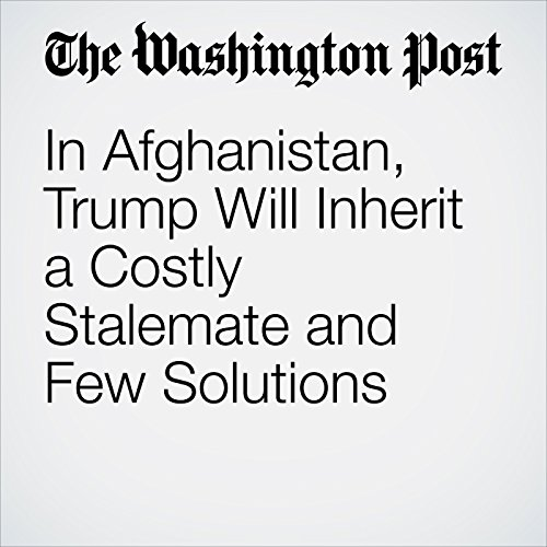 In Afghanistan, Trump Will Inherit a Costly Stalemate and Few Solutions copertina