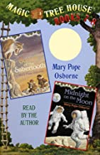 Magic Tree House: Books 7 and 8: Sunset of the Sabertooth, Midnight on the Moon