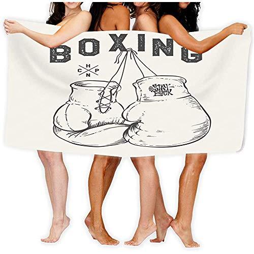 Super Absorbent yoga-handdoek, antislip, hot yogamat, bokshandschoenen, print design