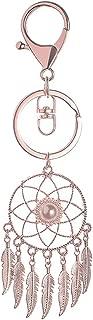 HIKEL Dreamcatcher Feather Tassel Cute Keychain Favor from Women, Souvenirs Keyrings Purse Bag Car Key Decoration