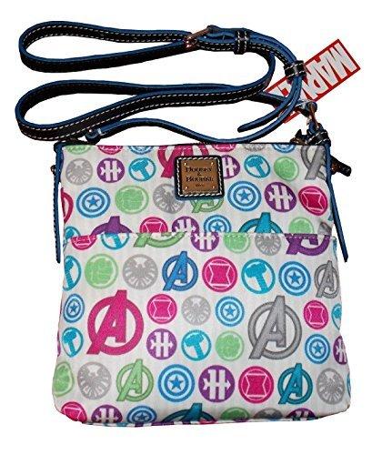Dooney & Bourke Disney Marvel Avengers Letter Carrier Crossbody Bag -  4331337023