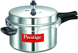 Prestige PPAPC7.5 Popular Pressure Cooker, 7.5 Liter, Silver