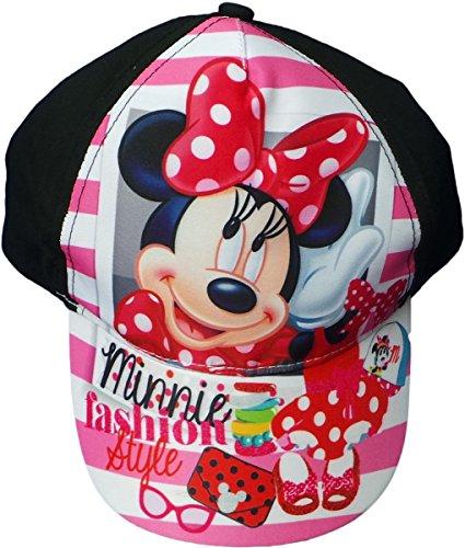 Disney Minnie Maus Cap - Minnie Fashion Style - Schwarz/Mehrfarbig