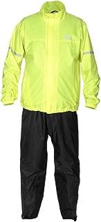 Fieldsheer Men's Aqua Tour Rain Suit, (Two Piece) (Hi-Viz/Black, Large)