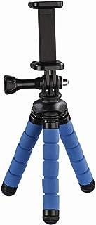 "Hama - Mini treppiede""Flex"" per smartphone e GoPro, 14 cm, blu"