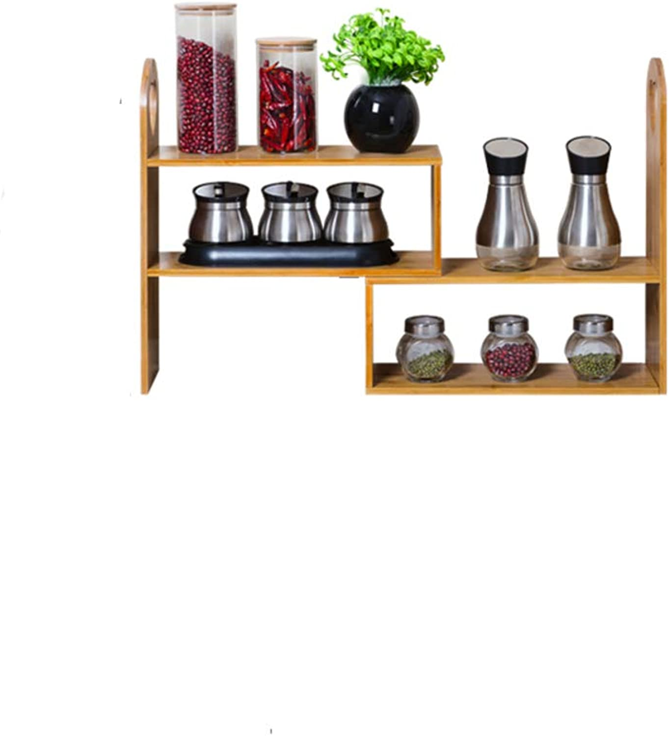 Kitchen Storage Shelf, 3 Ground Study Room Bedroom Living Room Office -A