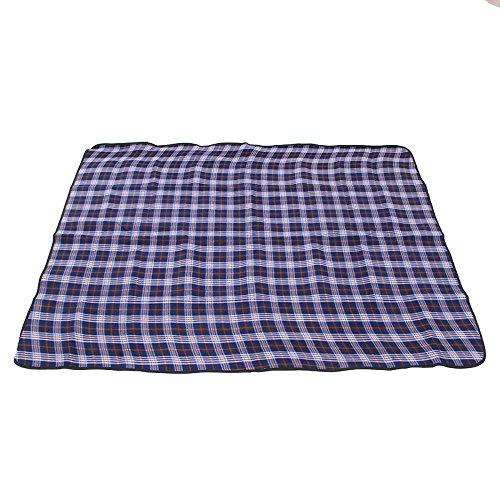 Lozse Grille extérieure imperméable en Daim Mat de Camping Couverture de Pique-Nique 150x200cm Tapis de Plage Tapis d'humidité
