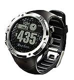 ショットナビ(Shot Navi) ゴルフナビ GPS 腕時計型 ブラック 日本プロゴルフ協会推奨 SN-W1-FW