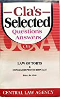 Cla's Selected Questions & Answers on Law of Torts & Consumer Protection Act