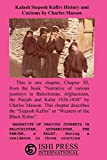 Kalash Siaposh Kafirs History and Customs by Charles Masson
