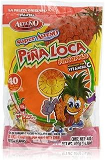 Alteno Super Pina Loca (Pineapple with Chili Lollipop) (40 Pieces)