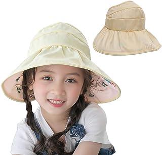 751da0f8 AlisaPrincessQ Kids UV Protection Hats Bucket Hat Double-Sided Wearable Sun  Hats Beach Hat for