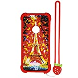 Case for ZTE N818S QLink Wireless Case Silicone border + PC hard backplane Stand Cover TT