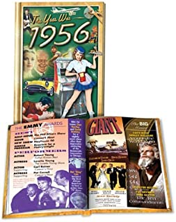 1956 Flickback Mini-Book: Great Birthday or Anniversary Gift, Hardcover – 2010