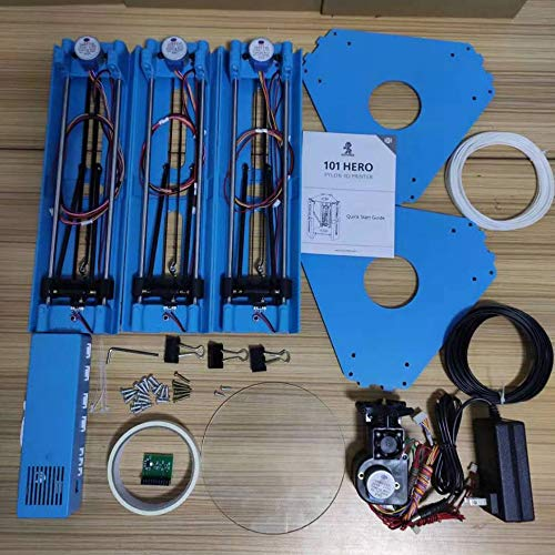 zhengyisho0p Mini Impresora de Escritorio 3D DIY Impresora FDM de ...
