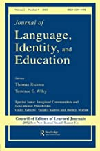 Imagined Communities and Educational Possibilities: A Special Issue of the journal of Language, Identity, and Education (Journal of Language, Identity, and Education, Volume 2, Number 4, 2003)