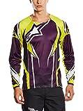 Alpinestar Cycling Camiseta Manga Larga Line 2 Violetto/Giallo S
