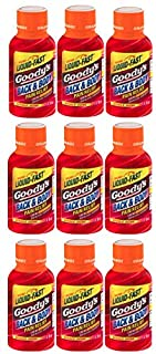 Goody's Back and Body Relief Shots | Orange Flavor | 9 Shots | 2 oz per Shot | Fast Liquid Action for Long Lasting Relief