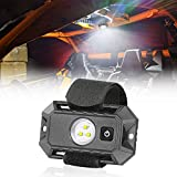 LED Dome Light, Niking Auto Universal Roll Bar Mount LED Interior Light Dome Light w/Switch Roll Cage Light Car Reading Light Courtesy Work Light for UTV ATV Polaris RZR Golf Cart