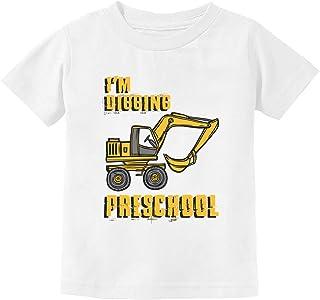 I'm Digging Preschool Gift for Tractor Loving Boys Toddler Kids T-Shirt
