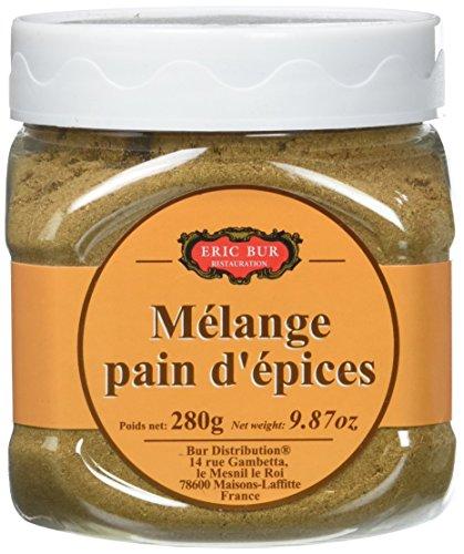 ERIC BUR Mélange Pain d'Epices Pot Pet - Lot de 4