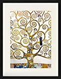 1art1 Gustav Klimt - Der Lebensbaum (Detail) Gerahmtes Bild