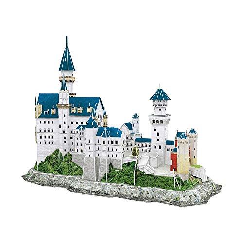 LKNJLL 3D Castillo de Neuschwanstein Puzzles for adultos y adolescentes, Alemania Arquitectura la construcción de modelos Kits de juguetes del alivio de tensión regalos for las mujeres y los hombres,