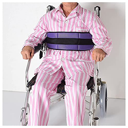 Cinturón ajustable de la seguridad del arnés de seguridad de la silla de ruedas 5 colores del arnés del asiento de seguridad de la correa de seguridad de la silla de la cintura de la cintura de la cor