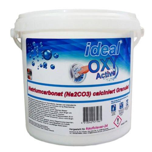 5 kg Wasch-Soda Natriumcarbonat (Na2CO3) Granulat Waschsoda