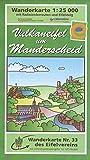 Manderscheid: Wanderkarte Nr. 33 des Eifelvereins (1:25.000) (Karten des Eifelvereins)