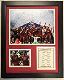 Legends Never Die Liverpool FC 2019 UEFA Champions League Champions Collectible | Framed Photo Collage Wall Art Decor - 12'x15'