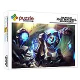 ZTCLXJ 1000 Piezas Puzzles Junior Puzzle 1000 Piece Jigsaw Puzzle Gigante De Piedra De Fantasía para Adultos Niños Educativos Juegos para Regalo De Año Nuevo De Vacaciones De Invierno 15 X 10 Pulgada