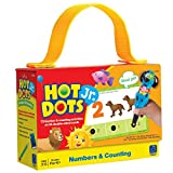 Educational Insights Hot Dots Jr. Numbers and Counting Card Set, Preschool and Kindergarten Readiness