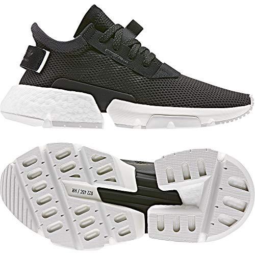 adidas Originals POD-S3.1 J Carbón Textil Jóvenes Entrenadores Zapatos