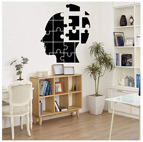 tinghua Niedlich Das Gehirn Puzzle Familie Wandaufkleber Wandkunst Wohnkultur Für Kinderzimmer Kinderzimmer Dekor Wandbild Poster 43 * 50Cm