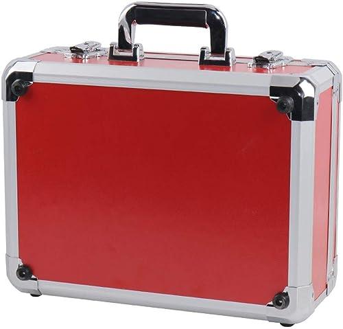 calidad de primera clase Mamun Mamun Mamun Estuche rígido Projoector de Viaje de Aluminio para dji Mavic 2 Pro   Zoom & Smart (rojo)  alta calidad