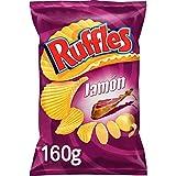 Ruffles Jamon, patatas fritas - 160gr