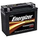 Energizer ETX24HL AGM Motorcycle and ATV 12V Battery, 350 Cold Cranking Amps and 21 Ahr.  Replaces: YTX24HL-BS and others