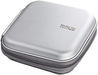 Lwieui Caja de Almacenamiento de CD Portátiles de Almacenamiento de CD Caso del hogar y del Recorrido del almacenaje Organ...