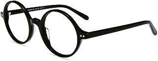 Firmoo Blue Light Blocking Reading Glasses, Vinatge Inspired Circle Round Computer Readers for Women/Men