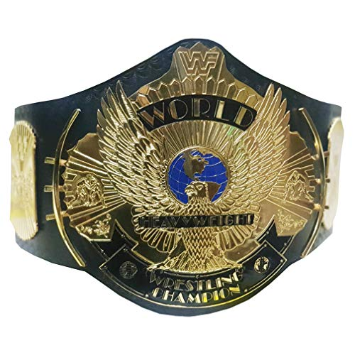 WWF Wrestling Championship Gürtel für Erwachsene, 2 mm Messingplatten