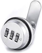 "Kast deurslot 3-cijferige combinatie Mailbox Lock 7/8 \""Rotary Tong Lock Lock voor Cabinet Lade Mailbox Cabinet Deurveilig..."