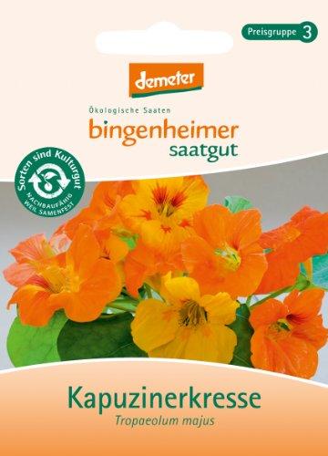 Bingenheimer Saatgut - Kapuzinerkresse - Blumen Saatgut / Samen