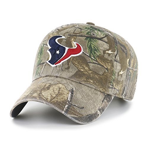 OTS NFL Houston Texans Men's Challenger Adjustable Hat, Realtree, One Size