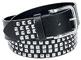 [page_title]-Black Premium by EMP Tony Unisex Gürtel schwarz 85 cm 100% Polyurethan Rockwear
