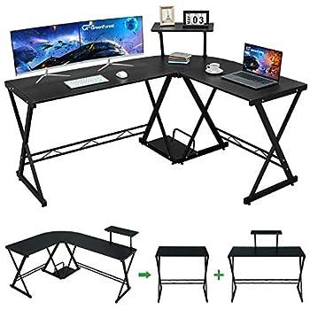 Best black gaming computer desk Reviews