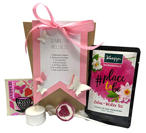 Tinkerella 30-Minuten-Wellness-Set Geschenk-Set Mitbringsel Gastgeschenk Frauen