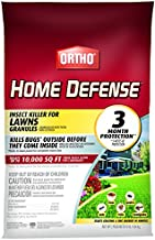 Ortho Home Defense Insect Killer for Lawns Granules - Treats up to 10,000 sq. ft, Lawn Insect Killer Kills Ants, Ticks, Fleas, Spiders, Centipedes & Other Listed Bugs, Fast Acting, 10 lb.