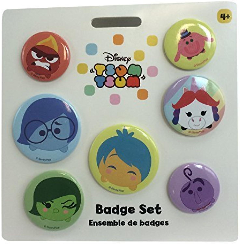 Disney Store Pixar Inside Out Tsum Tsum Badge Set by Disney